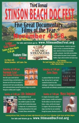 Third Annual Stinson Beach Docfest