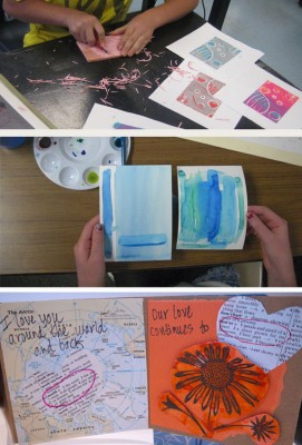 YIA Studio Fundraiser: Paint, Print, Cut and Create!