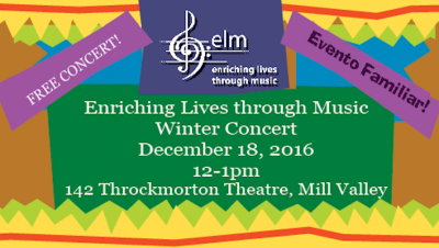 Enriching Lives Through Music (ELM) Winter Concert