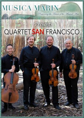 Bring in the Holidays with Quartet San Francisco