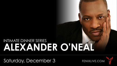 Intimate Dinner Series: Alexander O'Neal