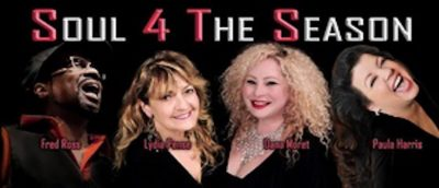 Soul 4 The Season feat Fred Ross of Tower of Power, Lydia Pense of Cold Blood, Paula Harris & Dana Moret