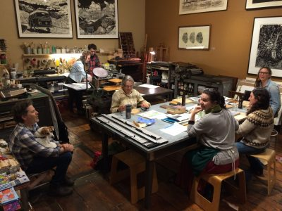 INK + DRINK: Printmaking Social