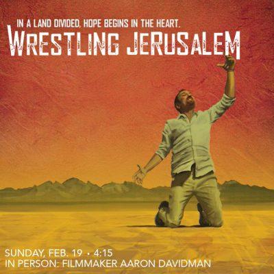 Wrestling Jerusalem w/ writer-actor Aaron