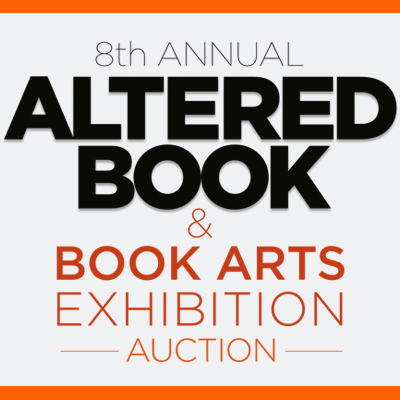 Altered Book & Book Arts Exhibition & Auction
