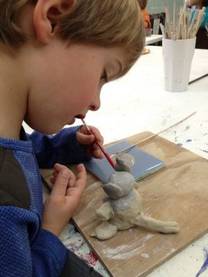 Clay + Play Preschool Tuesday
