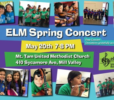 Enriching Lives Through Music Spring Concert