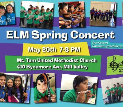 Enriching Lives Through Music Spring Concert