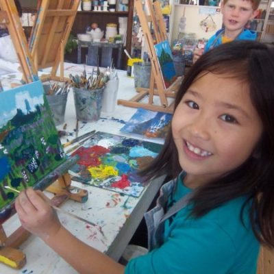 Summer camp Drawing + Painting July 24-28
