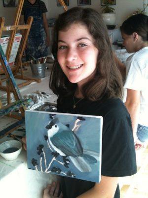 Summer camp Fine Art Painting August 14- 18