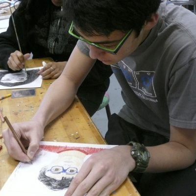 Finding Meaning Gallery Route One's Artist in the Schools Project and Latino Photography Project