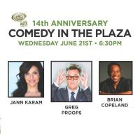14th Annual Comedy In The Plaza