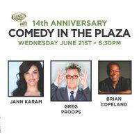 14th Annual Comedy In The Plaza