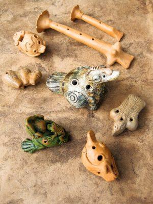 MESO-AMERICAN CLAY INSTRUMENTS clay workshop with Ernesto Hernandez-Olmos