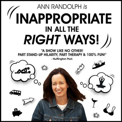 Ann Randolph: Inappropriate in All the Right Ways