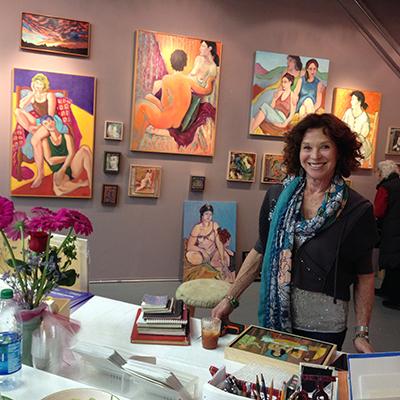 Anne-Marie de Rivera: Art Reception