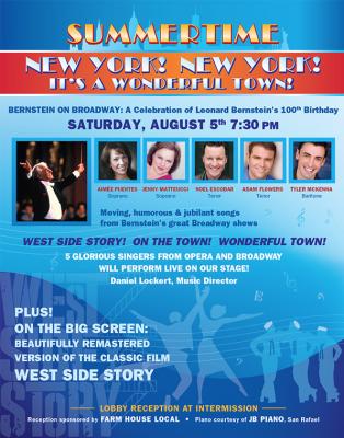 Summertime: Bernstein on Broadway