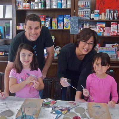 Family Art Class!