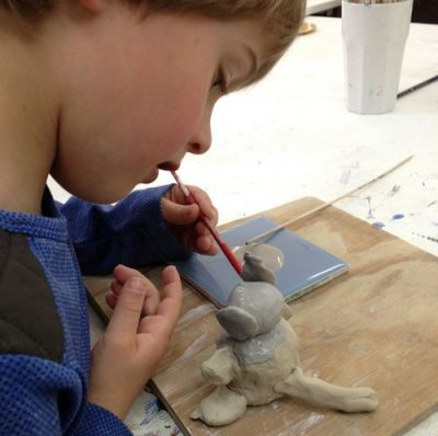 Ceramics, Clay + Pottery @ Strawberry Rec. Center - ages TK/K