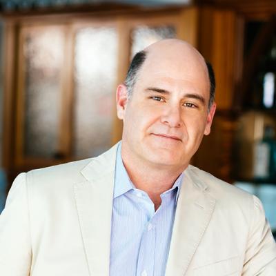Literary Café: MATTHEW WEINER in Conversation with MICHAEL KRASNY