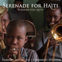 Serenade For Haiti