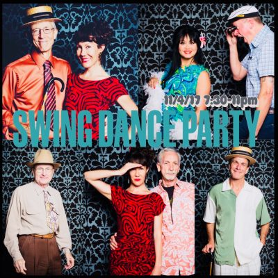 Swing Dance Party (+ Free Intro Swing Class)!