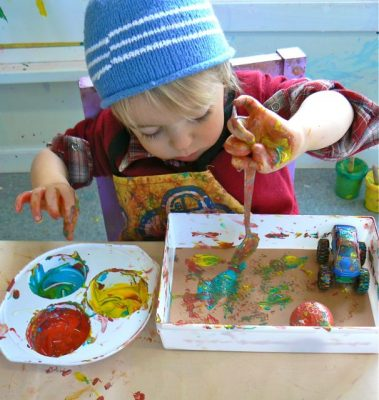 Toddler Art Explorers