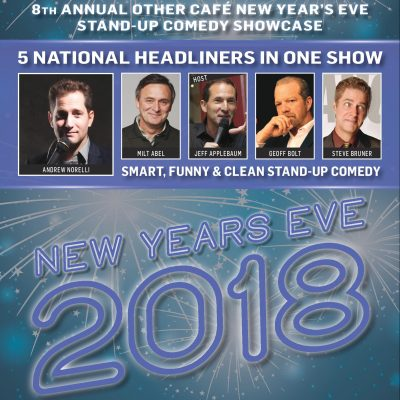 8th Annual New Year's Eve Comedy Showcase