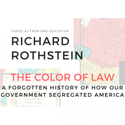 Richard Rothstein: The Color of Law