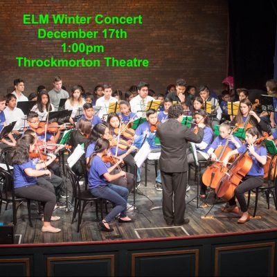 Enriching Lives Through Music - Winter Concert