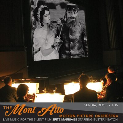 Buster Keaton's SPITE MARRIAGE with MONT ALTO MOTION PICTURE ORCHESTRA