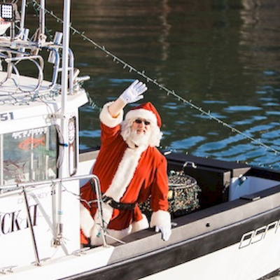 Santa's 7th Annual Visit and Holiday Open House