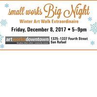 2d Friday Artwalk: Small Works Big Night