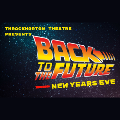 Back to the Future New Year's Eve celebration