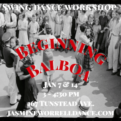 Swing Dance Workshop // Beginning Balboa