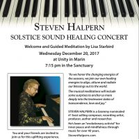 Steven Halpern: Winter Solstice Sound Healing Concert