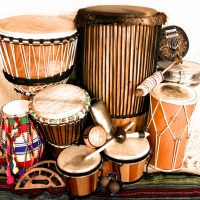 New Years Eve Drumming Circle (Early! 9:00pm countdown!)
