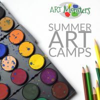 Make Your Own Art Studio + Art Summer Camp!
