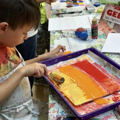February art camp WEEK