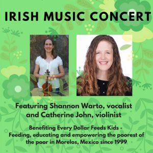 Irish Music: Shannon Warto and Catherine John