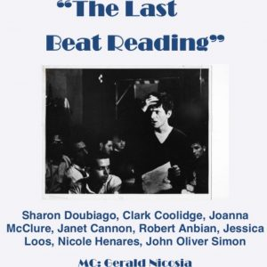 """The Last Beat Poetry Reading"" presented by Gerald Nicosia"