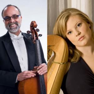 Friday Music & Morsels: Cellist Emil Miland & Harpist Meredith Clark