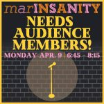 """""""marINSANITY"""" looking for laughers!"""