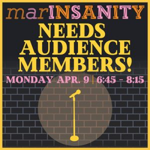 """marINSANITY"" looking for laughers!"
