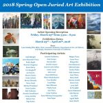 2018 Spring Open Juried Art Exhibition