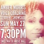Amber Morris Vocal Showcase