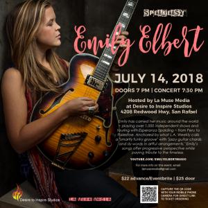 Emily Elbert Studio Concert