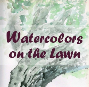 Watercolors On The Lawn