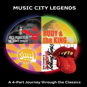Music City Legends concert ft. The Unauthorized Rolling Stones