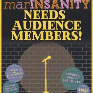 "Be part of the ""marINSANITY"""